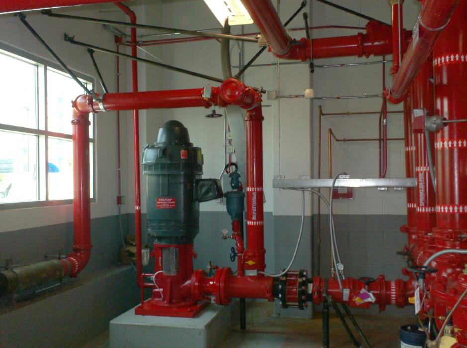 fire pump installation pictures to pin on pinterest